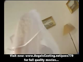 sexy blonde d like to fuck as bride does
