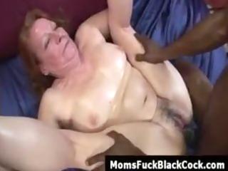 redhead granny miss nono receives ejaculation