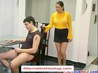 russian aged mom oksana 6 - aged sex clip -