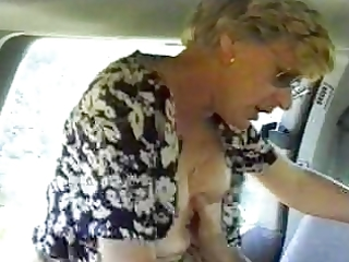 wife screwed in a car spouse is filming