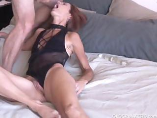 older non-professional loves anal