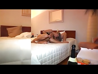 german wife in hotel