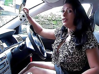 wicked black haired mother i with large