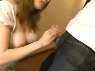 excited breasty wife molested and drilled by ally