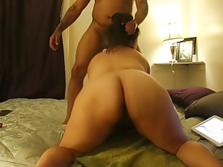 SEXY LIL MEXICAN WIFE SUCKING