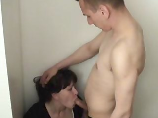 nasty juvenile stepson gets sucked and drilled by