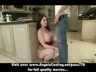 breasty dark brown mother i does oral stimulation
