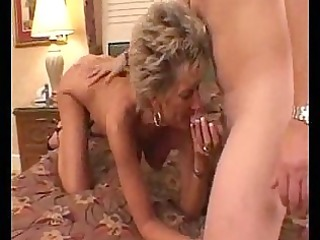 hot busty older cougar oral sex pleasures