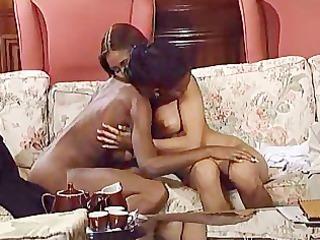 ebon and brunette hair wife destroy spouse