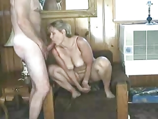 wife engulf and fake penis