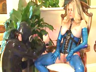 busty mature blond shows her love of jocks and a