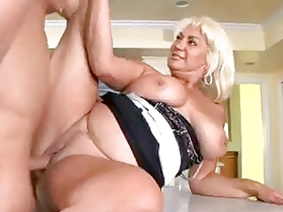 older and voluptuous woman a great lover of