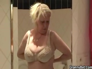 large billibongs granny screwed hard by juvenile