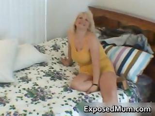 wicked mama shows her juggs and sucks cock part8