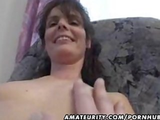 older dilettante wife homemade fucking with spunk