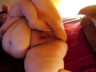 wife playing about