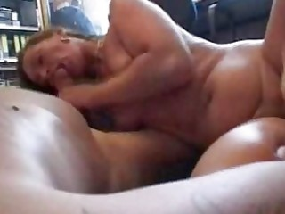 dilettante wife sucks and bonks in the office