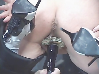 hawt aged redhead receives her muff toyed then