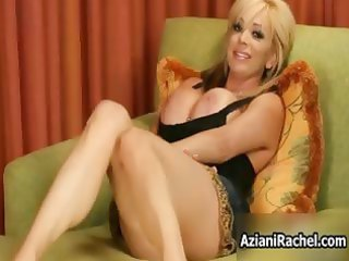 horny blond d like to fuck goes crazy dildo part6