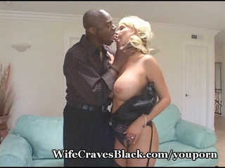 Plump Titty Wife Fucks Black