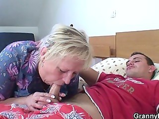 old granny is group-fucked by an juvenile pickuper