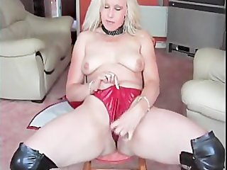 mature wife stripping for the webcam