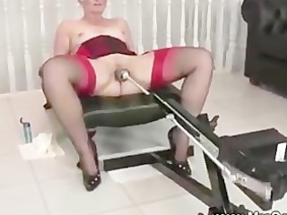 mature brit and her sex machine