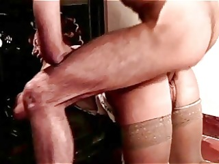 hirsute curler d like to fuck acquires anal from