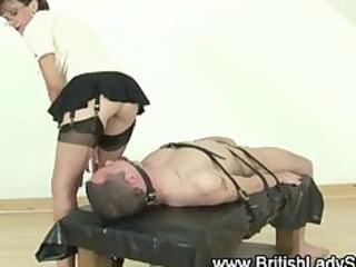aged femdom servitude oral