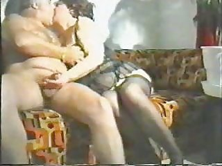 mommy and daddy having enjoyment in living room
