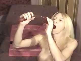 naughty older blond is the deep mouth queen
