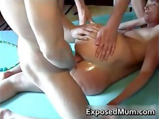 mama spanked and drilled part2