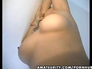 older dilettante wife home fucking with facial