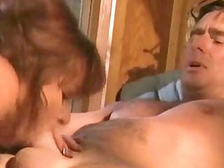 horny wife engulfing and fucking her spouse
