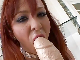 lascivious redhead mother i playing with massive