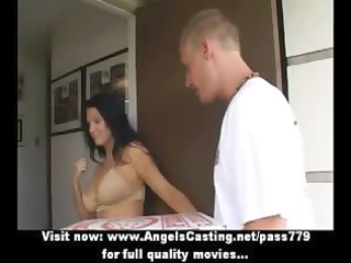 hot latin chick mother i does oral-service for