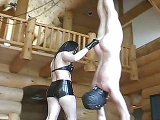 Mature dominatrix babes extreme balls busting