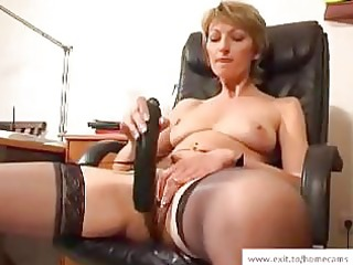 older stella in her homemade masturbation movie