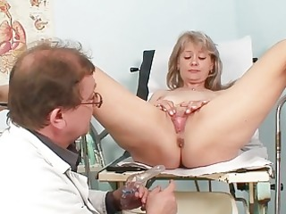 sexy blond mother i receives her cunt abased in