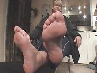 grandma nice-looking feet