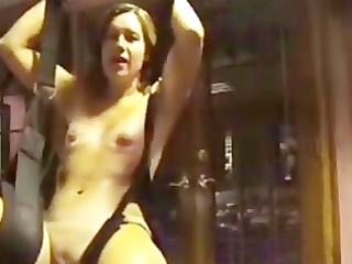 wife uses sex swing