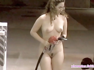 wench wife faith receives nasty