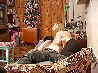 russian older mamma with schoolboy