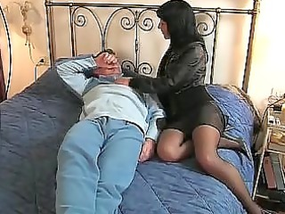 dark brown italian wife goes to he is