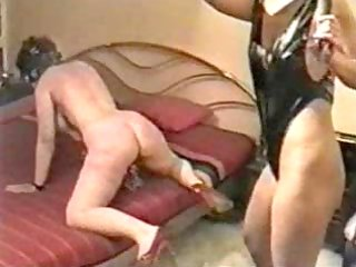 hard whipping on my serf wife